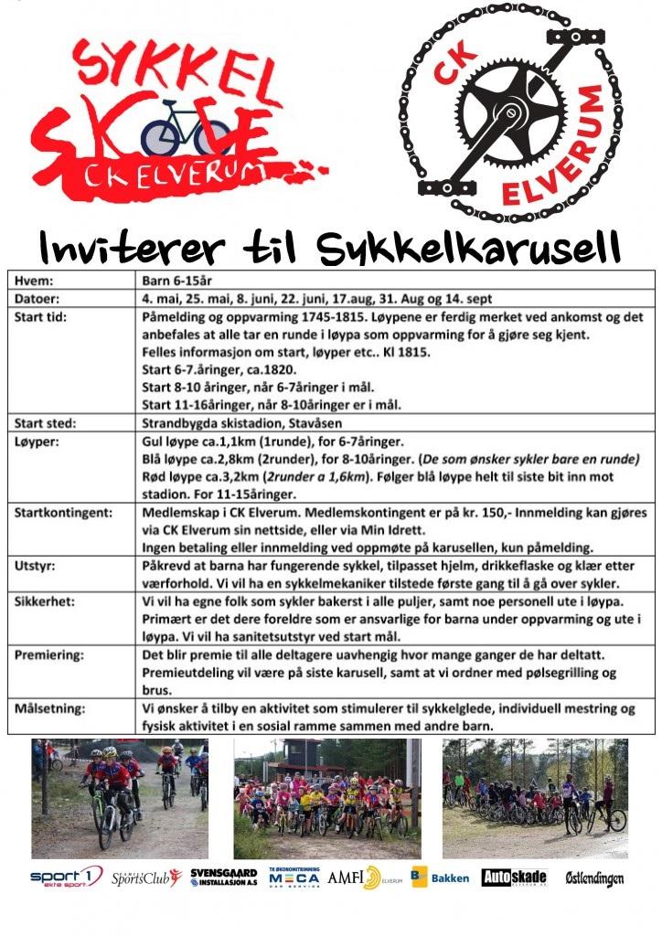 sykkelskoleny
